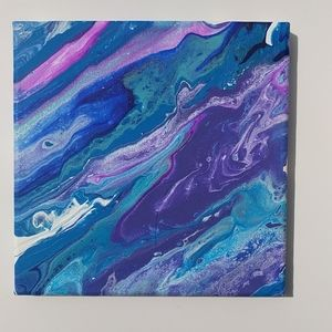 Original painting abstract bright and beautiful!